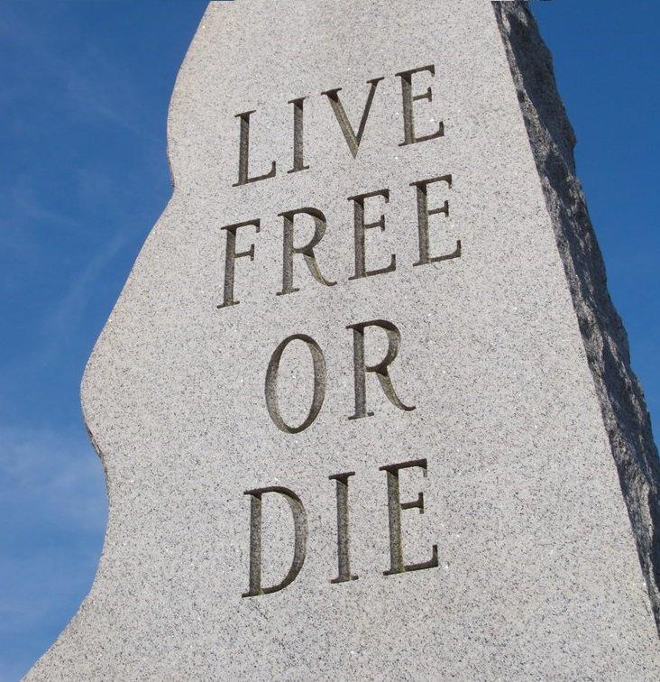 JStark1809 Deterrence Dispensed Live Free Or Die