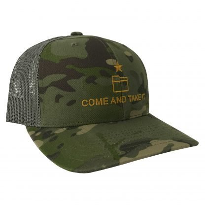 Come And Take It Trucker Tropic MULTICAM Hat Side